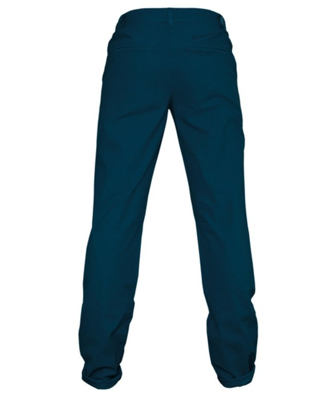 CHINO LADIES DARK BLUE organic – Bild 2
