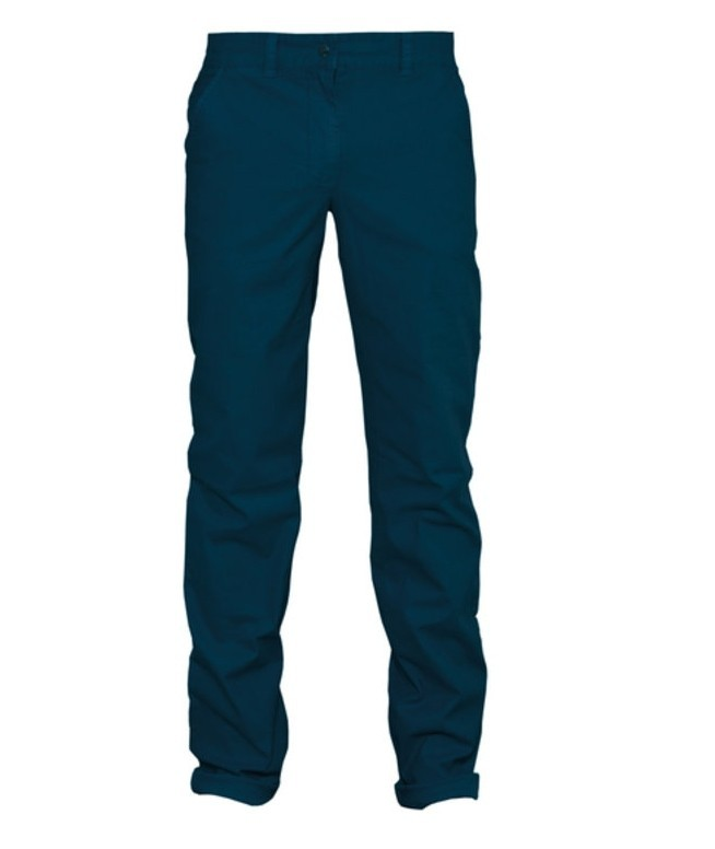 CHINO LADIES DARK BLUE organic – Bild 1