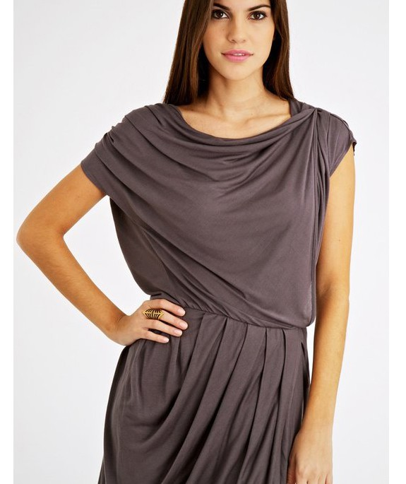 Vida Dress Grey – Bild 1