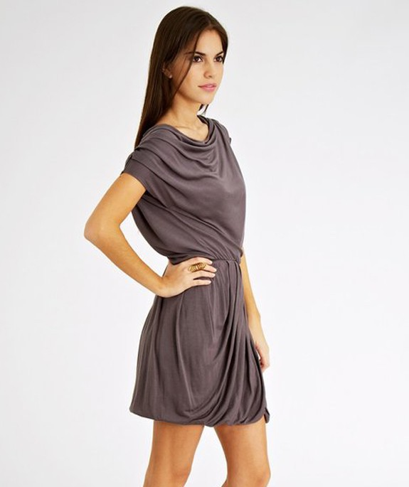 Vida Dress Grey – Bild 2