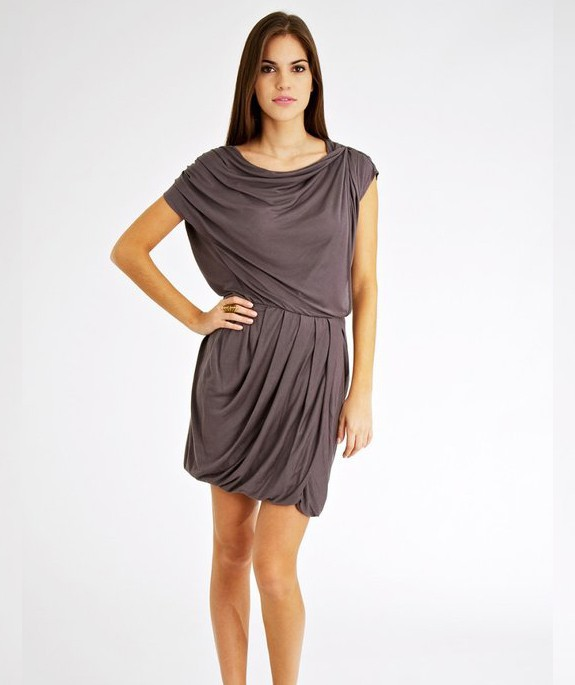Vida Dress Grey – Bild 3