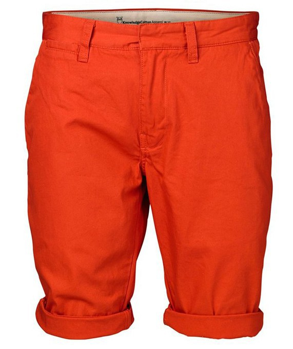 Twisted Twill Shorts Aurora Red