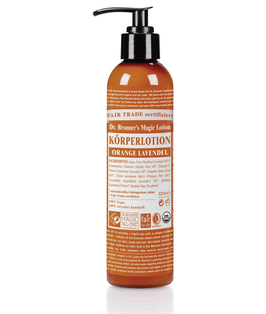 Body Lotion Orange Lavendel